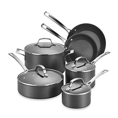 Circulon® Genesis™ Hard Anodized Nonstick 10-Piece Cookware Set