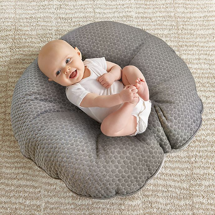 Alternate image 1 for Boppy® Preferred Newborn Lounger in Grey