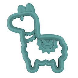 Itzy Ritzy® Llama Silicone Teether in Green