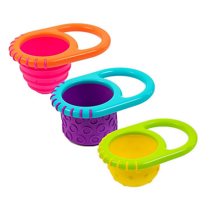Alternate image 1 for Sassy® 3-Pack Fill Cup Bath Toys