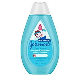 Johnson & Johnson® Kids 13.6 fl. oz. Clean & Fresh Shampoo & Body Wash