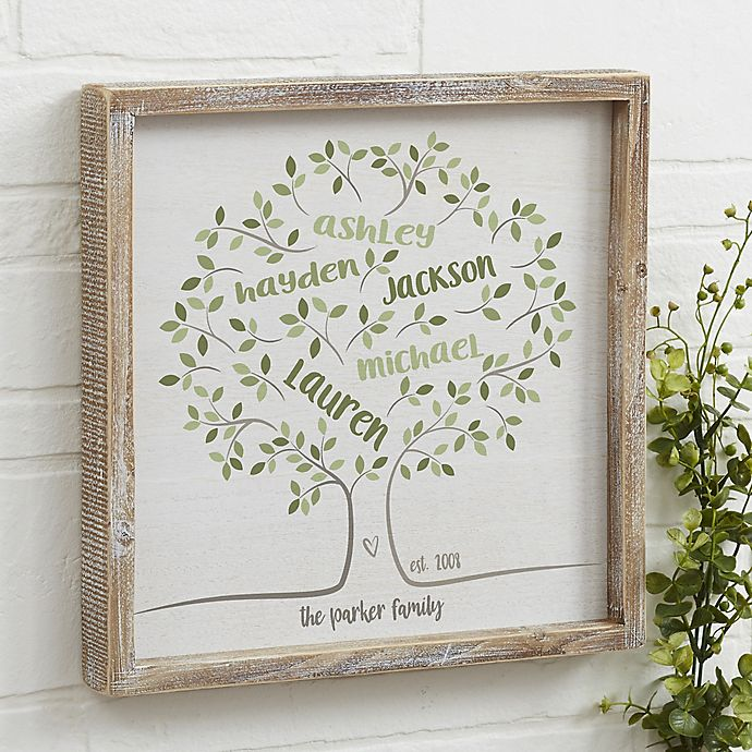 Family Tree Of Life Personalized 12