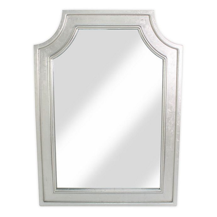 Alternate image 1 for W Home 31.5-Inch x 43.5-Inch Rectangular Arched Wall Mirror in Silver