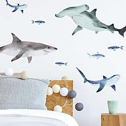 RoomMates® Sharks Peel & Stick Wall Decals (Set of 28)