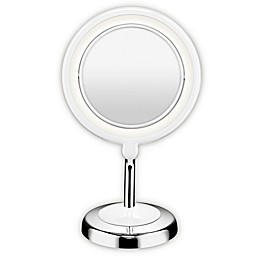 Conair® True Glow 1X/3X LED Lighted Mirror in Chrome
