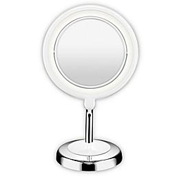 Conair® True Glow 1X/3X LED Lighted Mirror in Chrome