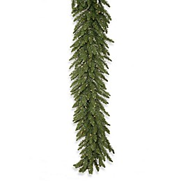 Vickerman Camdon Fir Pre-Lit Garland with Clear Lights