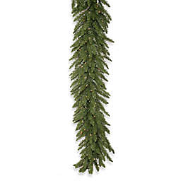 Vickerman Camdon Fir Pre-Lit Garland with Clear LED Lights