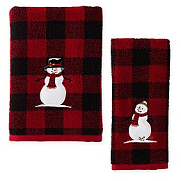 Woodland Winter Bath Towel Collection