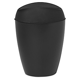 Umbra® Twirla Wastebasket in Black