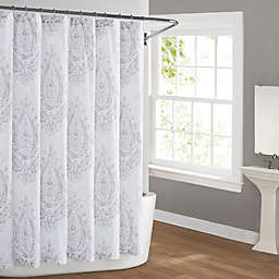 Cottage Classics Paisley Blossom Shower Curtain