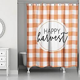 Designs Direct Happy Harvest Shower Curtain