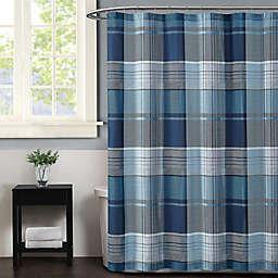 Truly Soft Trey Shower Curtain in Grey
