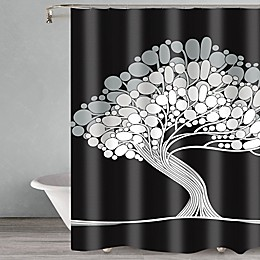 Popular Bath Tree Shower Curtain