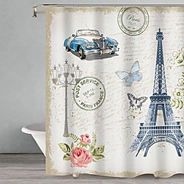 Popular Bath Paris Shower Curtain