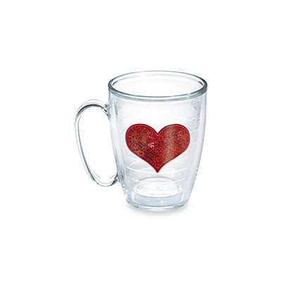 Tervis® Sequin Heart 15-Ounce Mug in Red