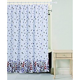 Bloom by Sara Berrenson Meadow Belle Shower Curtain