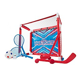 Franklin® Sports 6-in-1 Knee Sport Game Set in Red/White