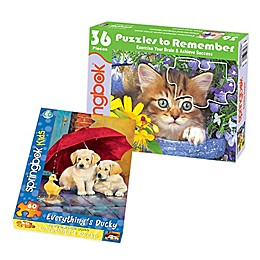 Springbok® Animal 2-Pack Jigsaw Puzzles