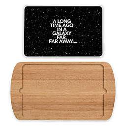 Star Wars™ Scroll Billboard 2-Piece Glass-Top Serving Tray