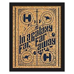 RoomMates® Star Wars™ 16-Inch x 20-Inch Galaxy Far Far Away Cork Wall Art