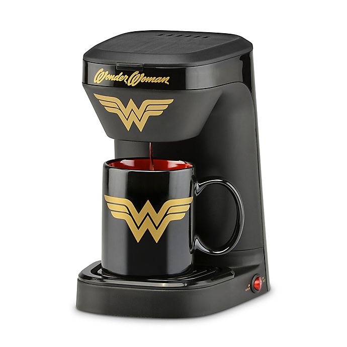 Alternate image 1 for DC Comics™ Wonder Woman 1 Cup Coffee Maker with Mug