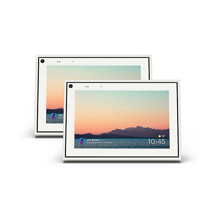 Alternate image 1 for Facebook 8-Inch Portal Mini with Alexa (Set of 2)