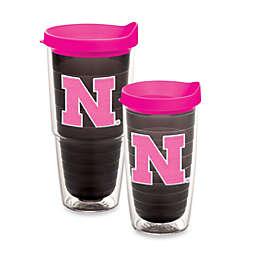 Tervis® University of Nebraska Cornhuskers Tumbler with Lid in Neon Pink