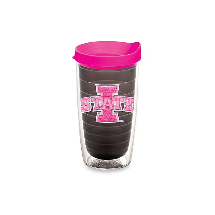 Alternate image 1 for Tervis® Iowa State University Cyclones 16-Ounce Tumbler in Neon Pink
