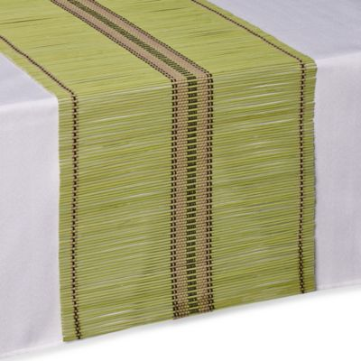 Bamboo Table Runner In Green Bed Bath Amp Beyond