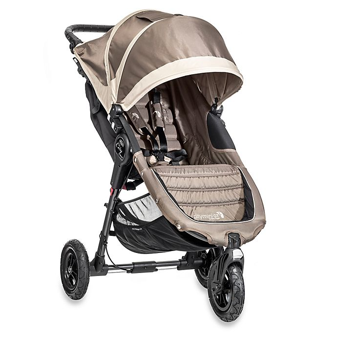 Alternate image 1 for Baby Jogger® City Mini® GT Single Stroller in Sand/Stone