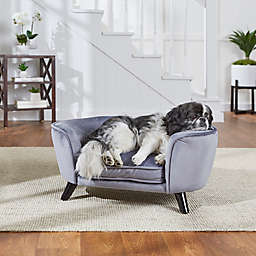 Enchanted Home™ Pet Romy Small Pet Sofa Bed in Pewter