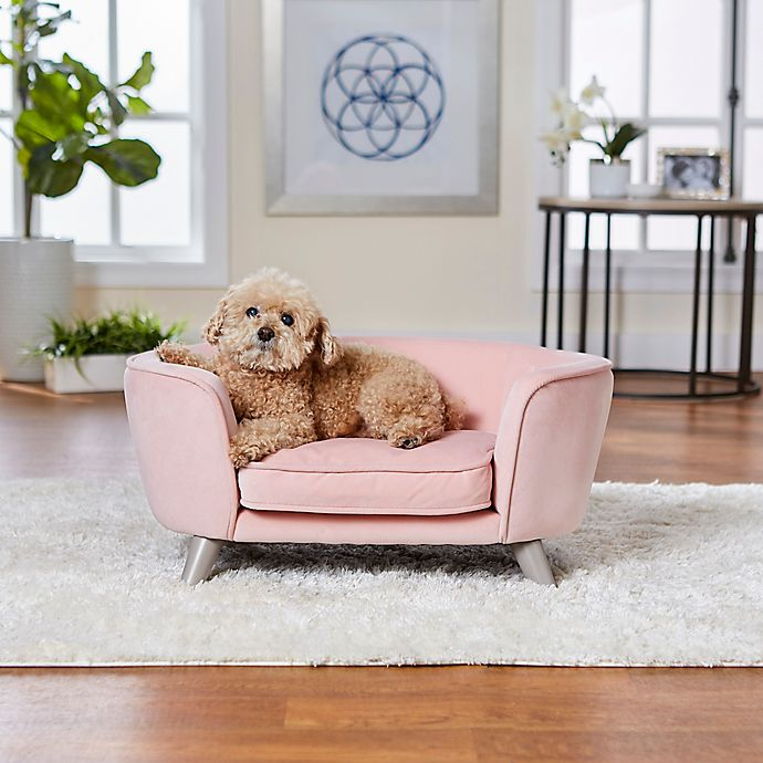 Alternate image 1 for Enchanted Home™ Pet Romy Pet Sofa Bed