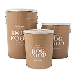 "Harry Barker® ""Bon Chien"" Dog Food Storage Canister"