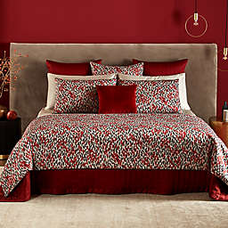 Frette At Home Pennellate King Duvet Cover in Cinnamon