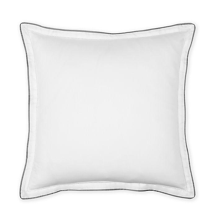 Alternate image 1 for Under the Canopy® Italian Hem Stitch European Pillow Sham