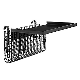 Forest Gate™ Universal Metal Bunk Bed Shelf in Black