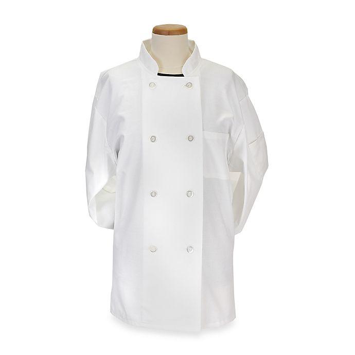 Alternate image 1 for KitchenWears Medium Classic Chef Coat in White