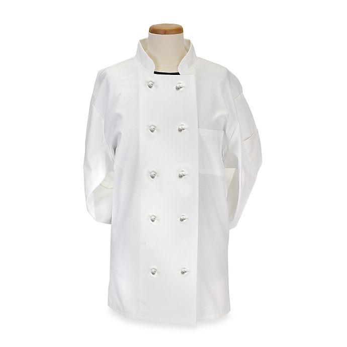 Alternate image 1 for KitchenWears Medium Executive Chef Coat in White