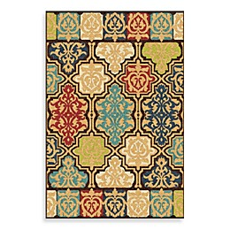 Aria Rugs Veranda Collection Yandell Rug in Multicolor