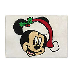 Disney® Holiday Mickey and Minnie Bath Rug Collection