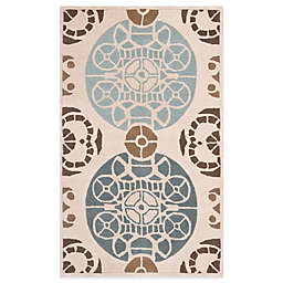 Safavieh Capri Rugs in Beige/Blue