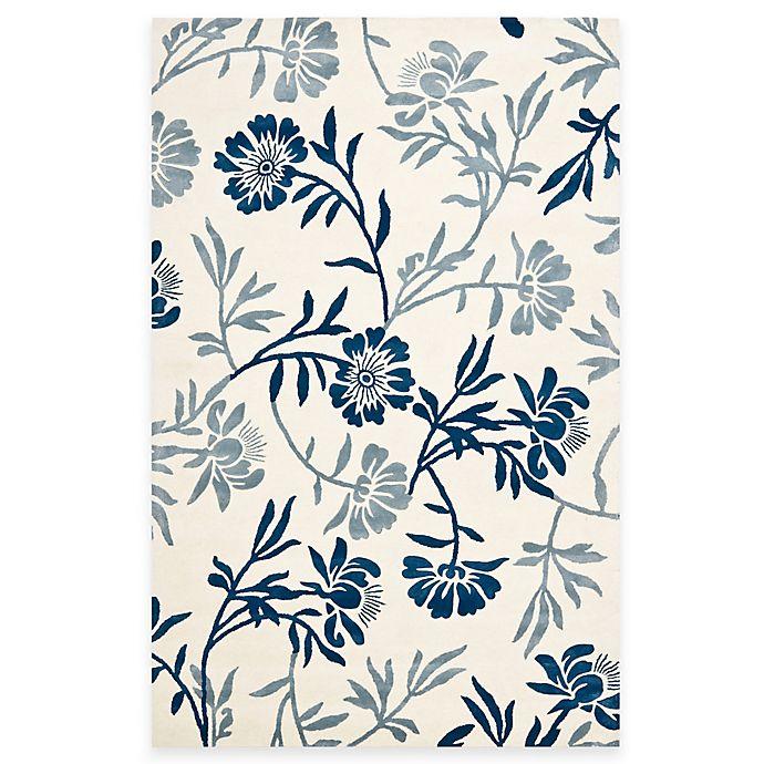 Alternate image 1 for Safavieh Capri Rugs in Ivory/Blue