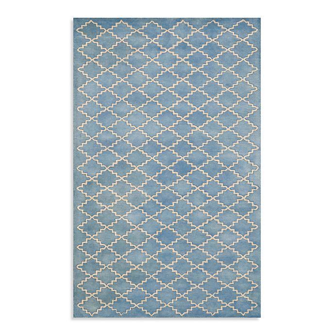 Alternate image 1 for Safavieh Chatham 5-Foot x 8-Foot Rug in Blue/Grey