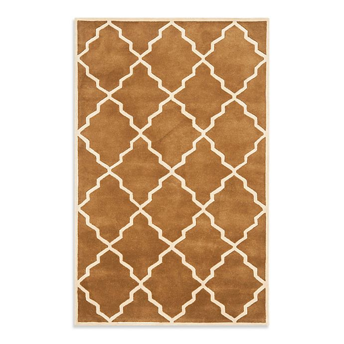 Alternate image 1 for Safavieh Chatham 5-Foot x 8-Foot Rug in Brown