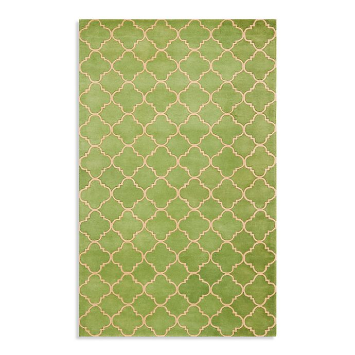 Alternate image 1 for Safavieh Chatham 5-Foot x 8-Foot Rug in Light Green