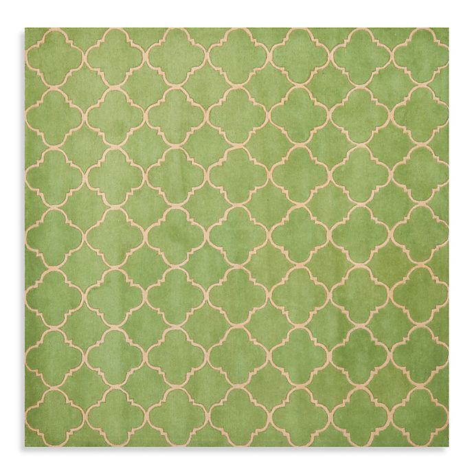 Alternate image 1 for Safavieh Chatham 7-Foot x 7-Foot Rug in Light Green