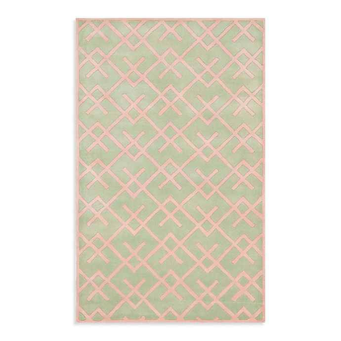 Alternate image 1 for Safavieh Chatham 6-Foot x 9-Foot Rug in Green
