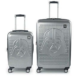 Disney® Star Wars® Darth Vader 2-Piece Spinner Luggage Set in Silver