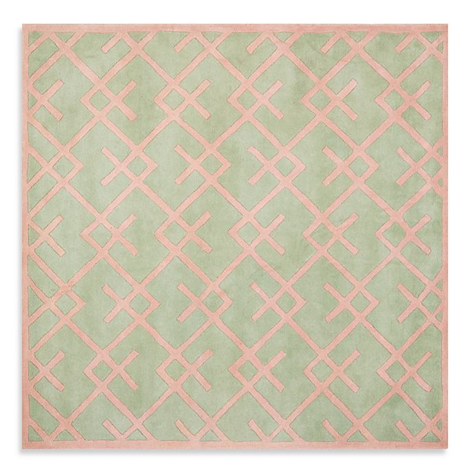 Alternate image 1 for Safavieh Chatham 7-Foot x 7-Foot Rug in Green